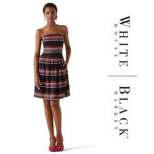 White House Black Market Strapless Dress 104K